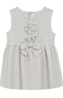 Платье с декором Aletta