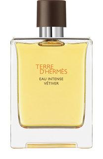 Парфюмерная вода Terre d'Hermes Eau intense Vetiver Hermès
