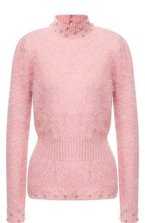 Приталенный пуловер с воротником-стойкой Tom Ford