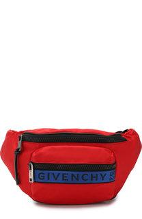 Текстильная поясная сумка 4G Bum Givenchy