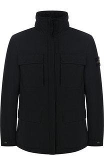 Куртка Primaloft на молнии с воротником-стойкой Stone Island