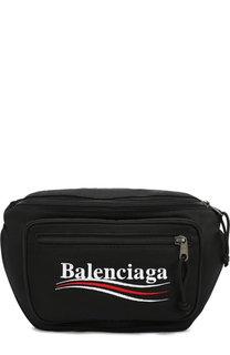 Текстильная поясная сумка Explorer Balenciaga
