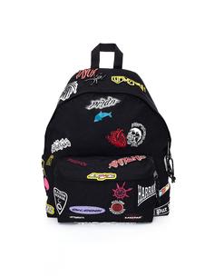 Рюкзак с нашивками-стикерами x Eastpak Vetements