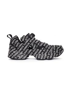 Черные кроссовки Reebok Insta Pump с лого Vetements