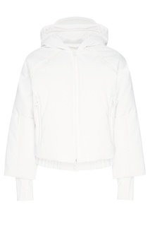 Короткая белая куртка Fendi