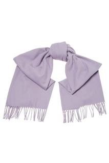 Сиреневый шерстяной шарф Acne Studios