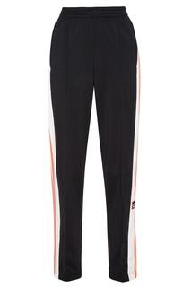 Черные брюки с лампасами Adidas
