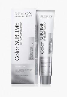 Краска для волос Revlon Professional REVLONISSIMO COLOR SUBLIME для окрашивания 8.12 светлый блондин пепельно-перламутровый 75 мл