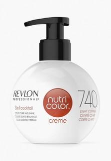 Краска для волос Revlon Professional NUTRI COLOR для тонирования волос 740 светло-медный 270 мл