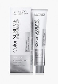 Краска для волос Revlon Professional REVLONISSIMO COLOR SUBLIME для окрашивания 6.40 темный блондин интенсивный медный 75 мл