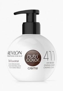 Краска для волос Revlon Professional NUTRI COLOR для тонирования 411 коричневый 270 мл