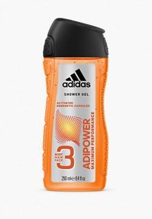 Гель для душа adidas Adipower, 250мл