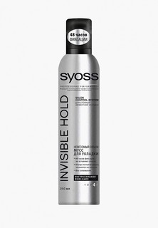 Мусс для укладки Syoss Invisible Hold экстрасильной фиксации, 250 мл