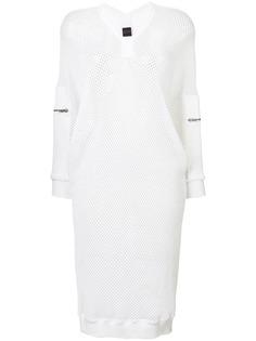 спортивное сетчатое платье миди Jean Paul Gaultier Vintage