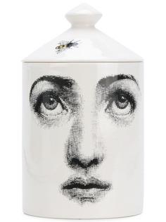 ароматическая свеча с рисунком на стакане Fornasetti Profumi