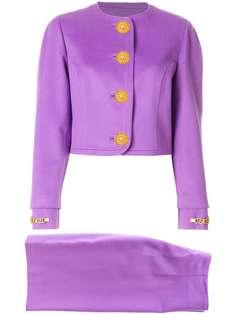 классический костюм с юбкой Versace Vintage