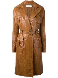 пальто со вставками Christian Dior Vintage