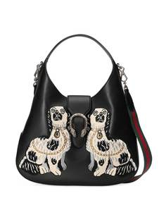сумка-хобо 'Dionysus' с вышивкой Gucci