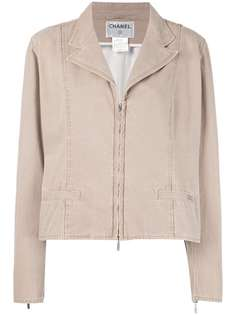 куртка на молнии Chanel Vintage