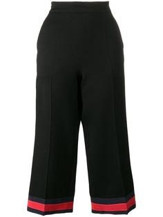 пижамные брюки с отделкой 'web ' Gucci