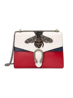 сумка 'Dionysus' с вышитой пчелой Gucci