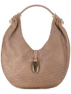 закругленная сумка-хобо Giorgio Armani Vintage