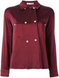 двубортная рубашка Christian Dior Vintage