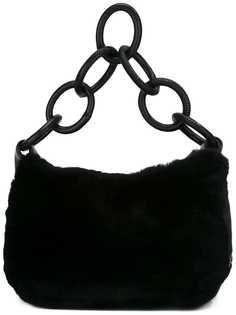 сумка с ручкой-кольцами Chanel Vintage