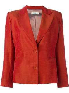 пиджак с широкими лацканами Romeo Gigli Vintage