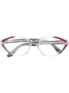 очки в прозрачной оправе Yves Saint Laurent Vintage