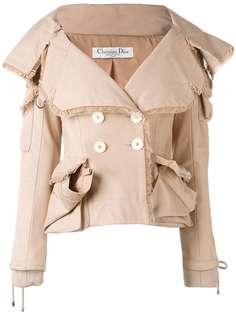 куртка с карманами Christian Dior Vintage