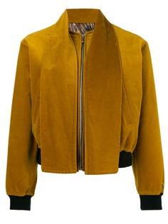 бархатная куртка бомбер Jean Paul Gaultier Vintage