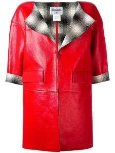 кожаная куртка Chanel Vintage
