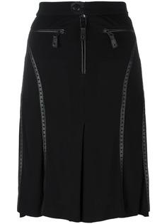 юбка с перфорированными деталями Jean Paul Gaultier Vintage