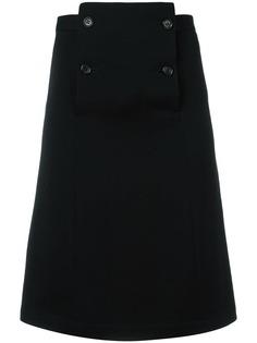 юбка до колена А-силуэта Comme Des Garçons Vintage
