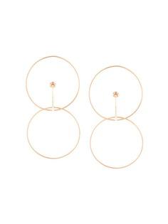 серьги-кольца Charlotte Chesnais
