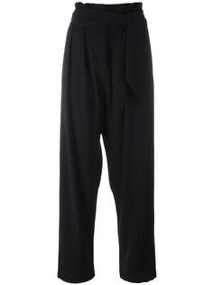 брюки с завышенной талией Loewe