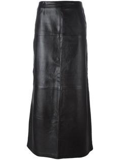длинная юбка с вышивкой Kenzo Vintage