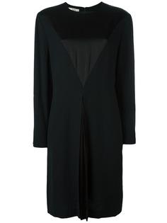 платье с атласным нагрудником Christian Dior Vintage