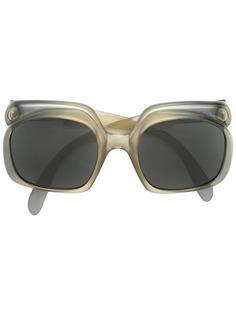 солнцезащитные очки в объемной оправе Christian Dior Vintage