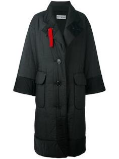 объемное стеганое пальто Issey Miyake Vintage