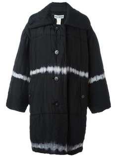 пальто свободного кроя с принтом тай-дай Issey Miyake Vintage