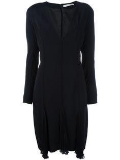 платье с V-образным вырезом Christian Dior Vintage