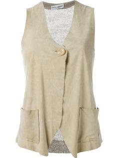 жилетка с вязаной вставкой сзади Dolce & Gabbana Vintage