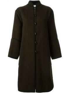 пальто с петельной застежкой Yves Saint Laurent Vintage