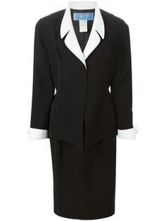 структурированный юбочный костюм Thierry Mugler Vintage