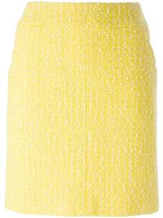 юбка вязки букле Chanel Vintage