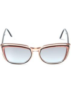 солнцезащитные очки в квадратной оправе Yves Saint Laurent Vintage
