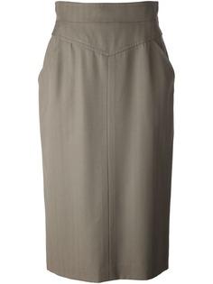 юбка средней длины Christian Dior Vintage