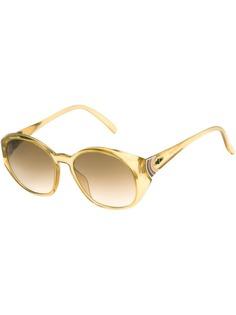 прозрачные солнцезащитные очки 70тых Christian Dior Vintage